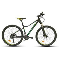 "2018 KROSS 27,5"" LEA 7 vel.19"" - black/green matt"