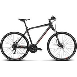 "2018 KROSS 28"" EVADO 5 vel.17"" - black/red matt"
