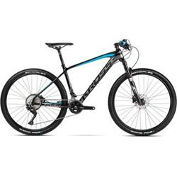 "2018 KROSS 29"" LEVEL 11 vel.18,5"" - black/graphite/blue glossy"