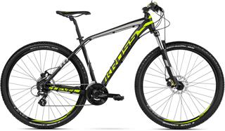 "2018 KROSS 29"" LEVEL 1.0 vel.19"" - black/lime/silver matt"