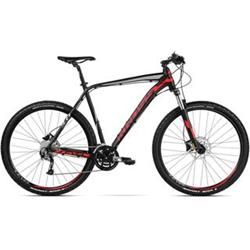 "2018 KROSS 29"" LEVEL 3.0 vel.19"" - black/red/silver matt"