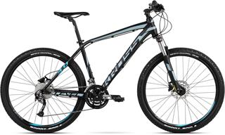 "2018 KROSS 29"" LEVEL 3.0 vel.19"" - black/steel/blue matt"