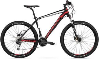 "2018 KROSS 29"" LEVEL 4.0 vel.17"" - black/red/white matt"