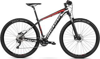 "2018 KROSS 29"" LEVEL 6.0 vel.17"" - black/white/red matt"