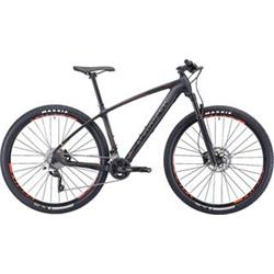 """29""""  SILVERBACK 2020 Storm - 16,5"""" - raw carbon/ hot red/ aston black"""