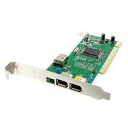 4World FireWire 4port (3+1) PCI