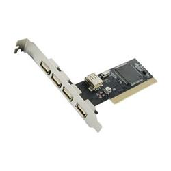 4World USB 2.0 5port (4+1) PCI