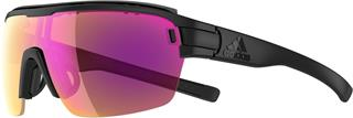 ADIDAS Eyewear ZONYK AERO PRO - Black matt - LST BRIGHT VARIO Purple mirror, vel. L