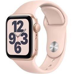 APPLE Watch SE 40mm Gold Aluminium Case with Pink Sand Sport Band - Regular
