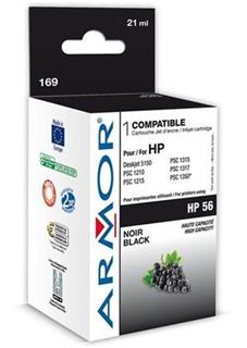 ARMOR cartridge HP 56 pro HP DJ 5150/5652/OJ4110 Black (C6656A) - alternativní