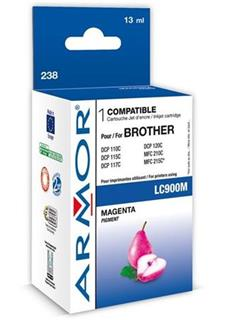 ARMOR cartridge pro BROTHER DCP-110/115 Magenta (LC-900M) - alternativní