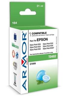 ARMOR cartridge pro EPSON Stylus Photo R200/R300/RX500/RX600 cyan (T048240) - alternativní