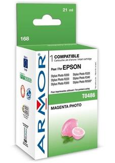 ARMOR cartridge pro EPSON Stylus Photo R200/R300/RX500/RX600 photo magenta (T048640) - alternativní