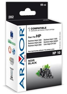 ARMOR cartridge pro HP 10 Officejet 9110/9120/9130 black (C4844A) - alternativní