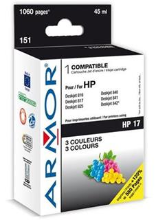 ARMOR cartridge pro HP 17 DJ 825C/840C..845C Color (C6625A) - alternativní