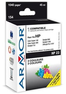 ARMOR cartridge pro HP 23 DJ 710C/810C/890C Color (C1823D) - alternativní