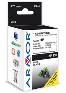 ARMOR cartridge pro HP 338 DJ 5740/6520/OJ7210 Black (C8765E) - alternativní