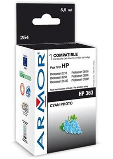 ARMOR cartridge pro HP 363 Photosmart 8250, PSC3210, C5180 Photo Cyan (C8774E) - alternativní
