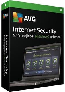 AVG Internet Security 1 lic. 1 rok, box, ISCEN12DCZS001