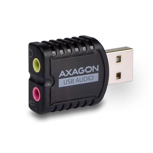 AXAGON ADA-10 USB - audio mini adaptér