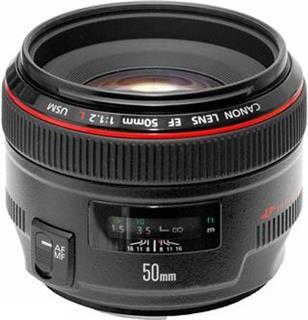 Canon objektiv EF 50mm f/1.2 L USM