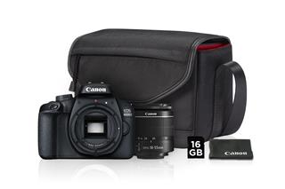 CANON zrcadlovka EOS 4000D + 18-55mm Value Up Kit
