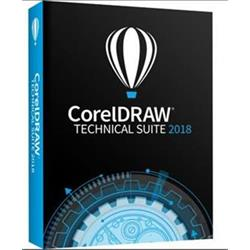 CorelDRAW Technical Suite 2018 ML, EN/DE/FR, BOX (CDTS2018MLDVD)