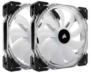 Corsair HD140 RGB LED 140mm PWM Fan — Twin Pack