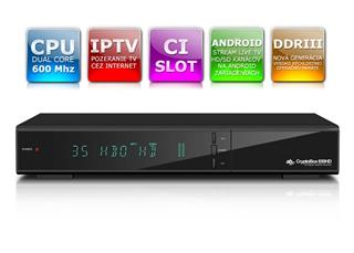 Cryptobox 650HD DVB-C Tuner