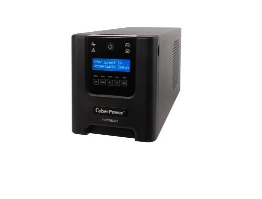 CyberPower Professional Tower LCD UPS 750VA/675W