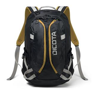 "DICOTA Backpack Active 14-15,6"" černo/žlutá"
