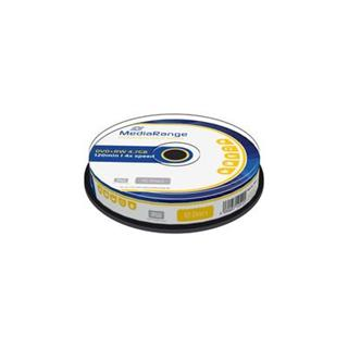 DVD+RW MediaRange 4.7GB 4x SPINDL (10pack)