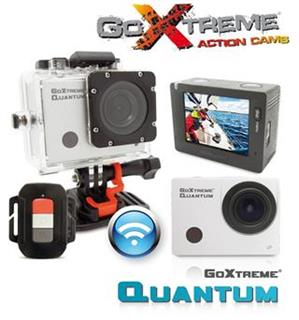 EasyPix GoXtreme Quantum, High Speed Full HD Action 1080p, bílá vodotěsná