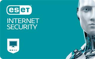 ESET Internet Security 3 lic. 1 rok (EIS003N1) elektronická