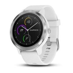 Garmin vívoactive3 Optic Silver, White band