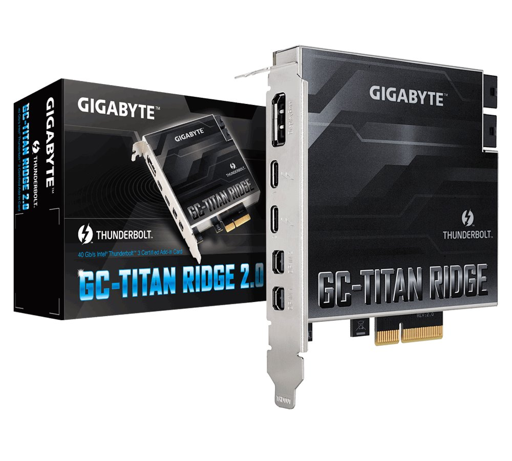 GIGABYTE GC-TITAN RIDGE 2.0 Card