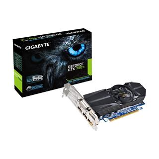 GIGABYTE GeForce GTX 750 Ti 2GB (GV-N75TOC-2GL)