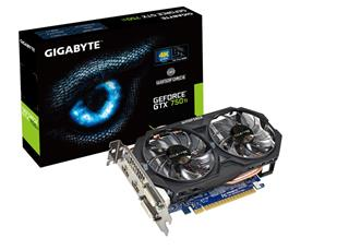 GIGABYTE GeForce GTX 750 Ti OC 2GB (GV-N75TOC-2GI)