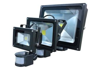 GREEN LIGHTS LED reflektor s PIR 10W 3250K IP65