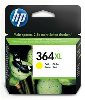 HP 364XL Yellow CB325EE