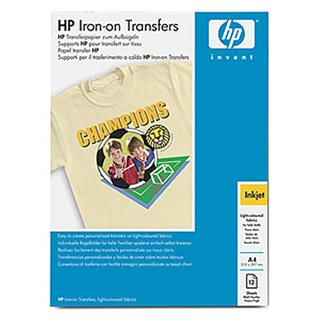 HP Nažehlovací fólie (Iron-ON T-Shirt Transfer) 12 listů/A4/210 x 297 mm C6050A