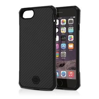 ITSKINS Atom DLX pouzdro Apple iPhone 6/6S/7/8, Black