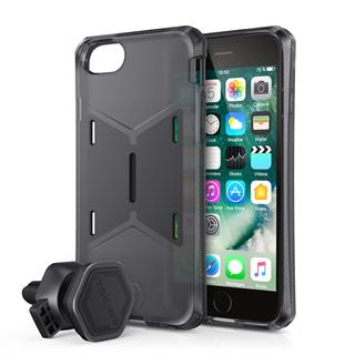 ITSKINS Magneta + Mount 2m Drop Apple iPhone 6/7/8,Black