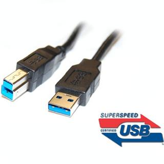 Kabel USB 3.0 Super-speed 5Gbps A-B 9pin 3m