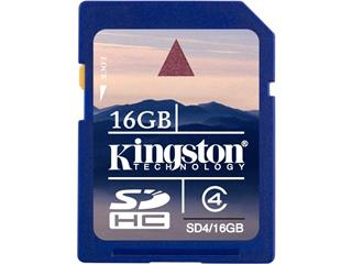 Kingston 16GB Class 4