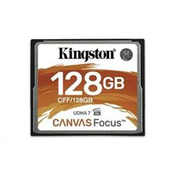 Kingston Compact Flash 128GB Canvas Focus