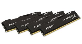 Kingston HyperX Fury 16GB (Kit 4x4GB) 2133MHz DDR4 CL14, černý chladič