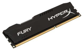 Kingston HyperX Fury 4GB 1600MHz DDR3 CL10 (10-10-10-30), černý chladič