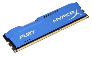 Kingston HyperX Fury 8GB 1333MHz DDR3 CL9 (9-9-9-27), modrý chladič