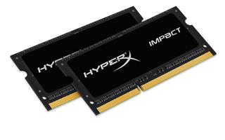 Kingston HyperX Impact 8GB (Kit 2x4GB) 1600MHz DDR3L CL9 SODIMM